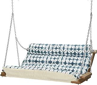 product image for Nags Head Hammocks Midori Indigo Cumaru Cushioned Double Swing