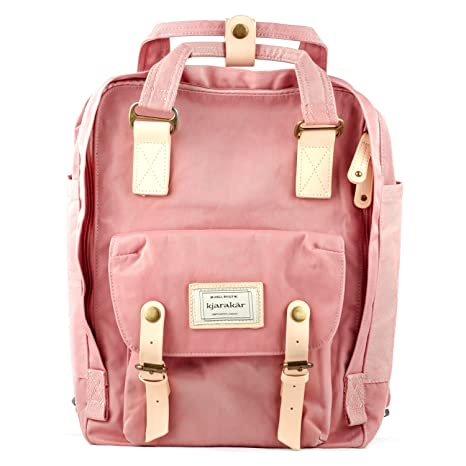 567250cce5 Amazon.com   Kjarakar (Pink Vintage School Laptop Travel Commuter ...