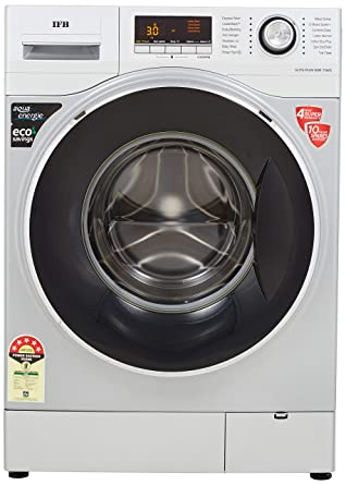 IFB 7.5 Kg Fully Automatic Front Loading Washing Machine  Elite Plus SXR, Silver, Inbuilt Heater