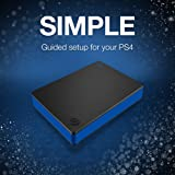 Seagate Game Drive 4TB External Hard Drive Portable HDD - Compatible with PS4
