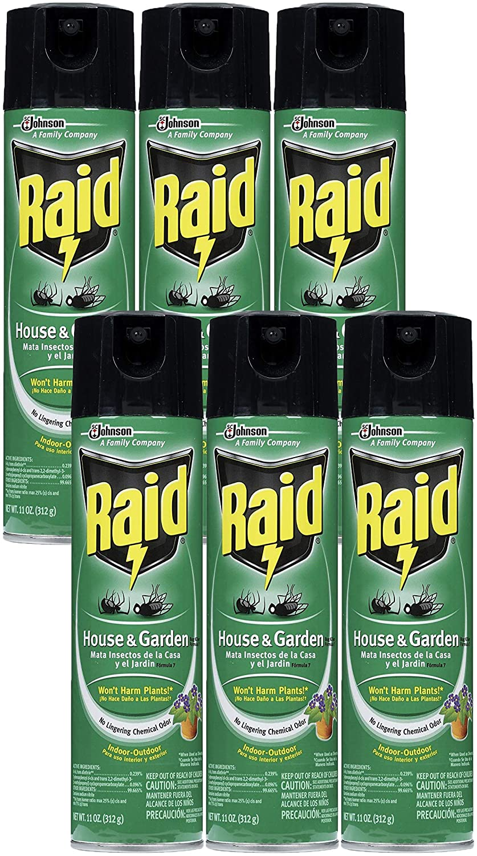 Raid House Garden Bug Killer, 11 OZ (6)