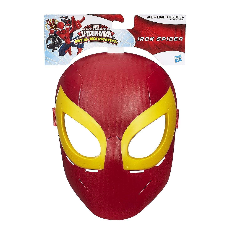 Marvel Ultimate Spider-Man máscara de hierro araña: Amazon.es: Juguetes y juegos