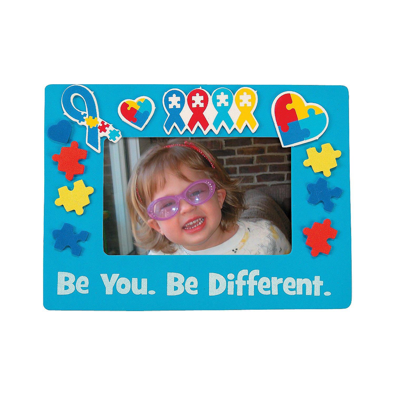 Autism Awareness Picture Frame Craft KIt