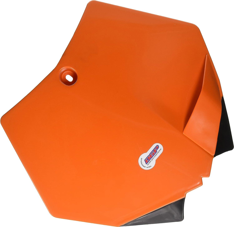 KTM 125 SX 2003-2006 Polisport Front Number Plate KTM Orange Fits