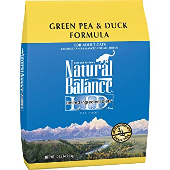 Natural Balance Limited Ingredient Dry Cat Food Green Pea & Duck