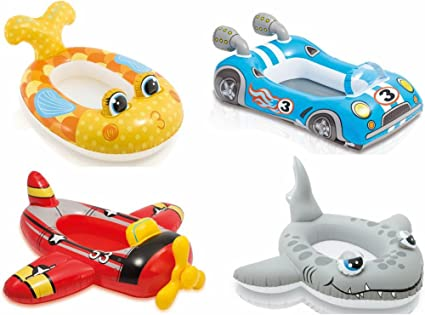 Amazon.com: Intex 59380EP The Wet Set Inflable Pool Cruiser ...