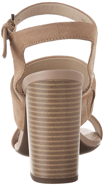 Geox Women's D AUDALIES H.SAN. A Heeled Sandal 40 EU/10 B01MS7EIIL M US|Dark Skin B01MS7EIIL EU/10 009bb1