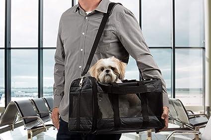 Amazon.com   Sherpa Original Deluxe Pet Carrier, Large, Black   Soft ... 0550516168