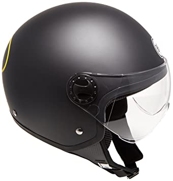 BHR 26695 Casco Demi-Jet One 801, Batman, Tamaño XL (60 cm