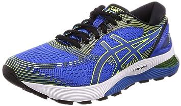 Amazon.com: Asics Gel-Nimbus 21 4E [1011A168-400] Men Running Shoes ...