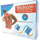 TECHICON Electric Gel Bottle Pouch Massager Hot Water Bag With AutoCut (Multicolour)