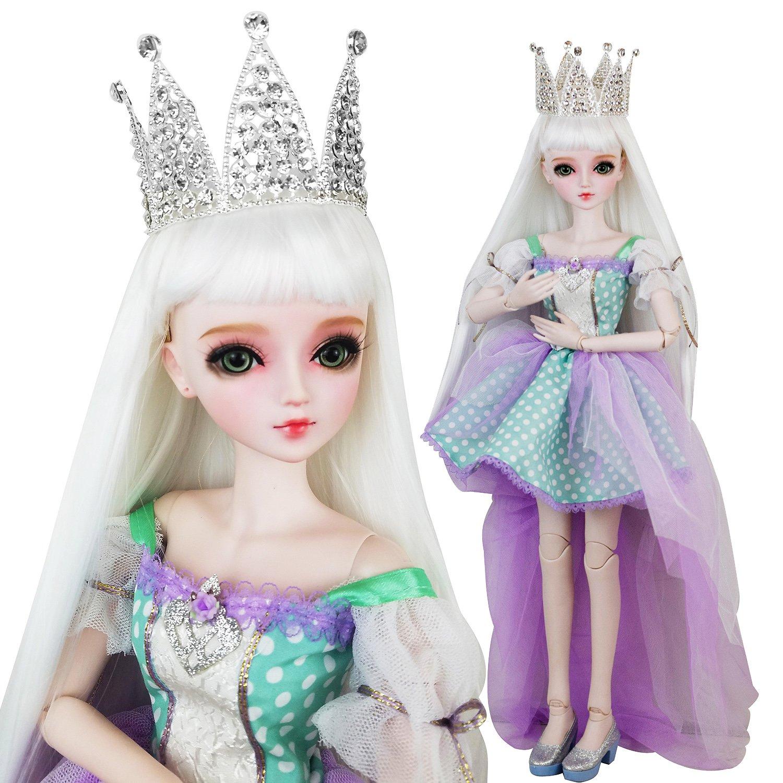 EVA BJD Rolla Queen 24 inch Full Set 1/3 Girl BJD Doll ball jointed dolls