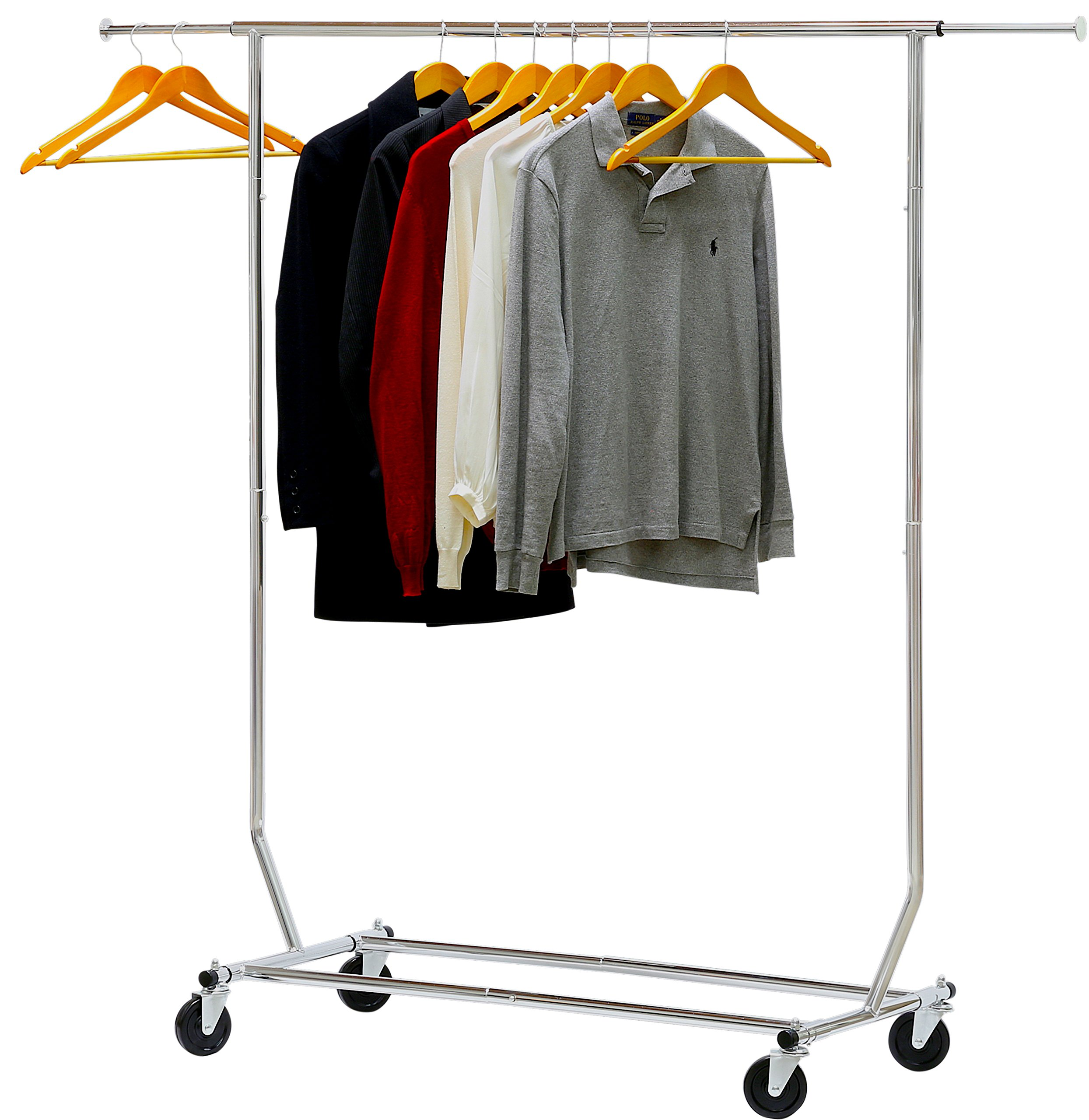 Simple Houseware Supreme Commercial Grade Clothing Garment Rack, Chrome by Simple Houseware