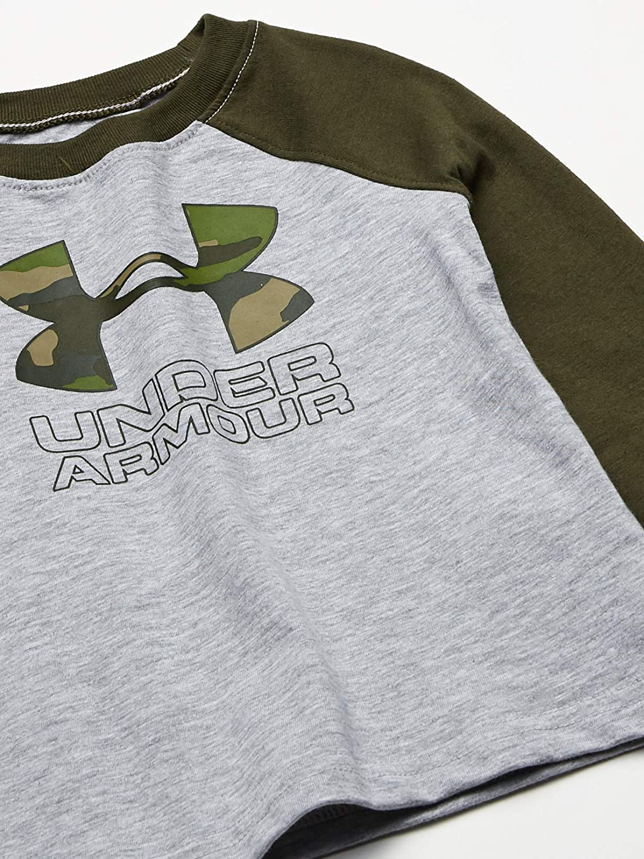 Under Armour Boys UA Maze Logo Twist Raglan