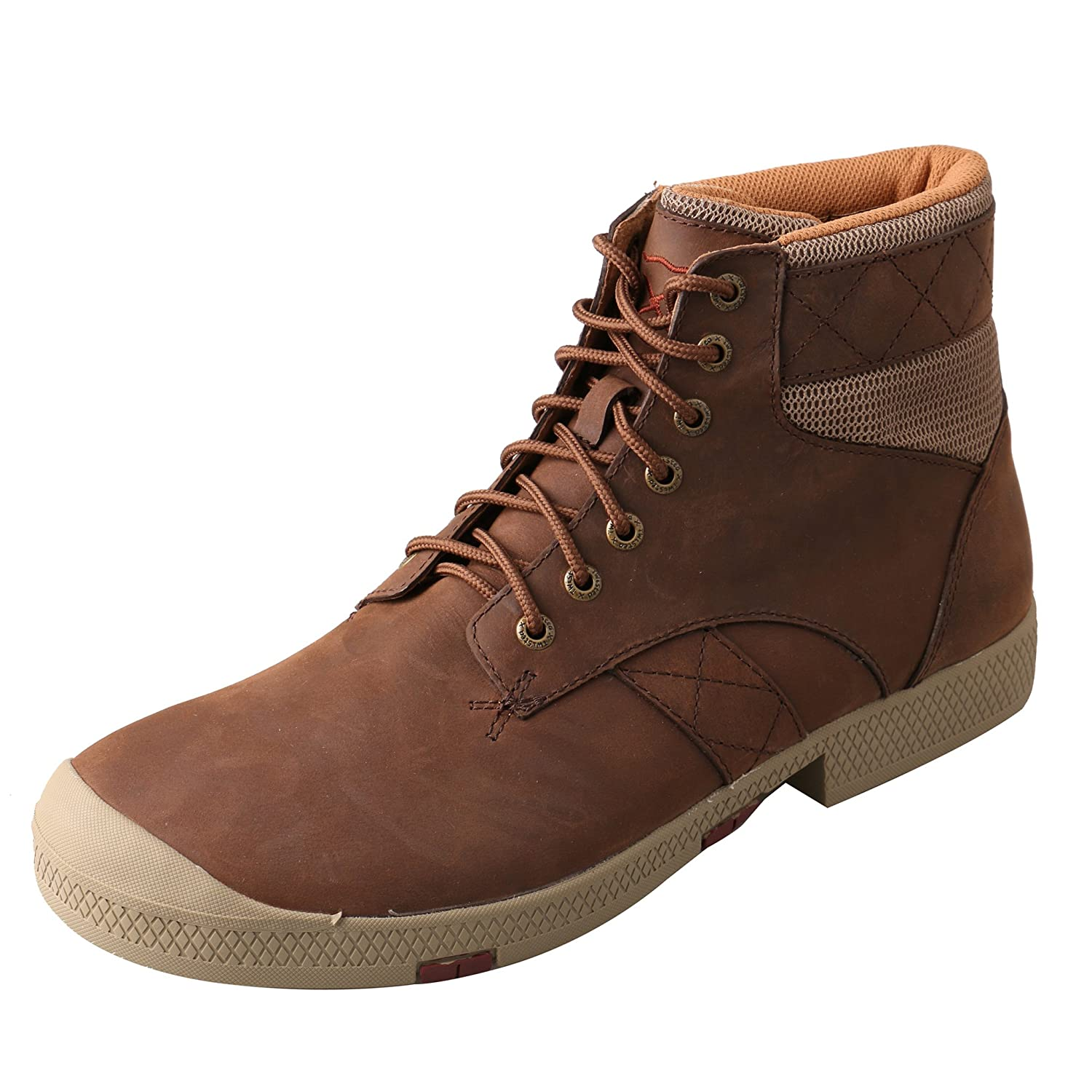 Amazon.com: Twisted X Mens Brown Leather Crazy Horse Casuals for Cowboys Boots 14M: Clothing