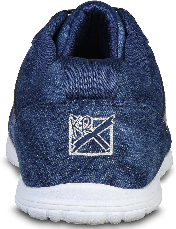 KR Strikeforce Womens Nova Lite Bowling Shoes Size 8 Denim Sparkle