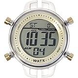 Unisex watch R. WATX COLORS DIG. COL.CHOCOLATE. RWA1008