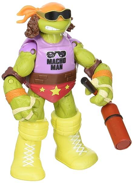 Amazon.com: Michelangelo como macho man – WWE teenage mutant ...
