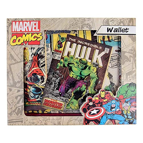 Cartera Marvel Comic Print (Multicolor): Amazon.es: Zapatos ...