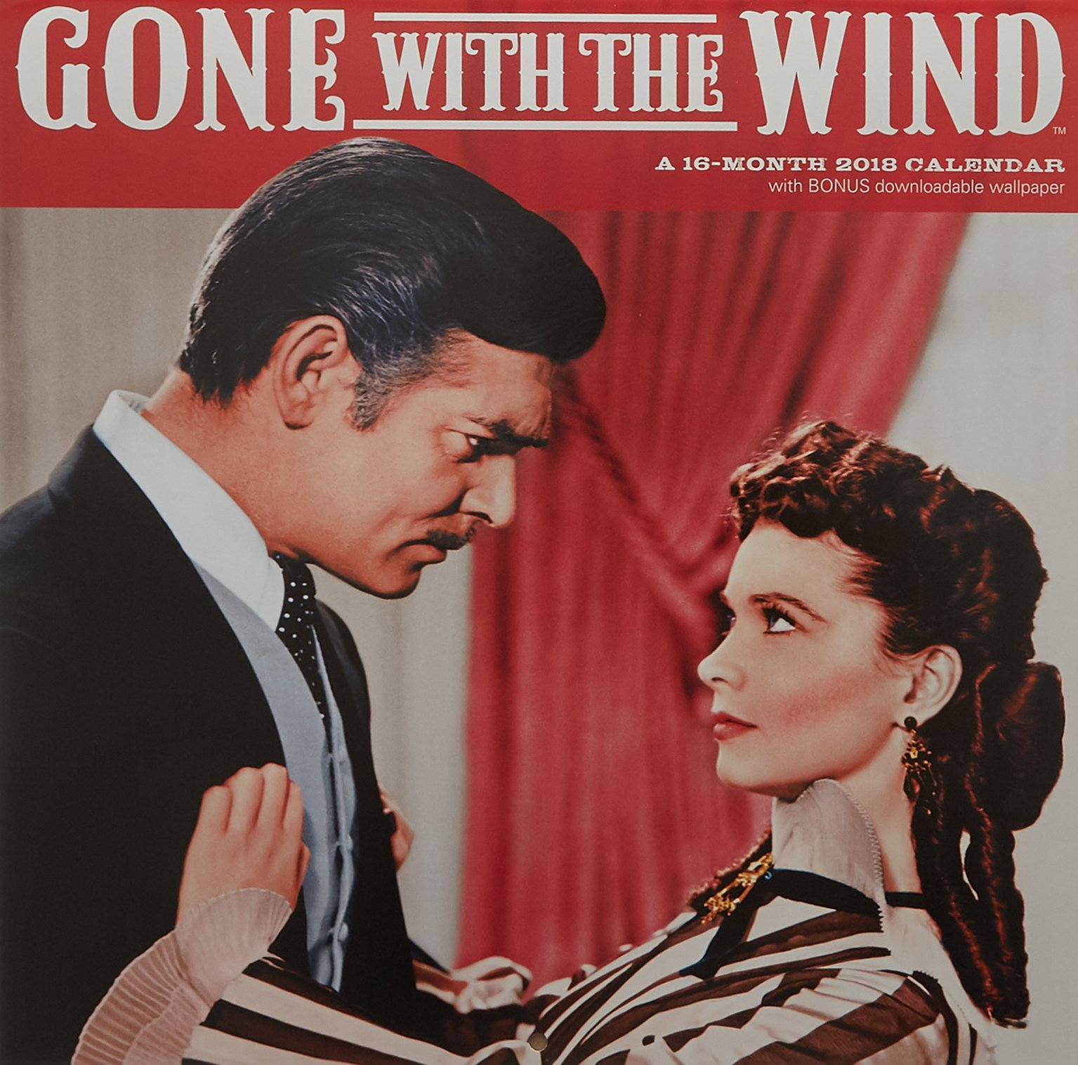 Gone With The Wind 2018 Calendar With Bonus Downloadable