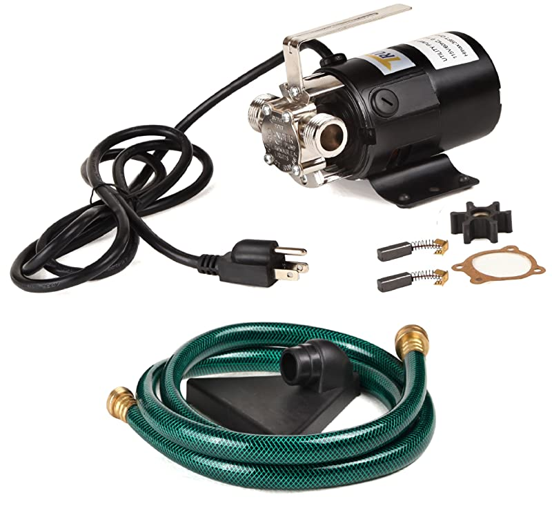 Trupow 1/10HP 330GPH 115-Volt Mini Portable Electric Utility Sump Transfer Water Pump