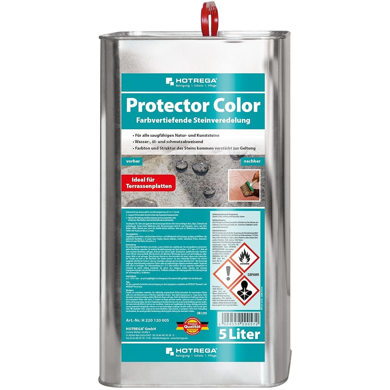 HOTREGA Protector Color Farbvertiefende Steinveredelung, 5 Liter Kanister