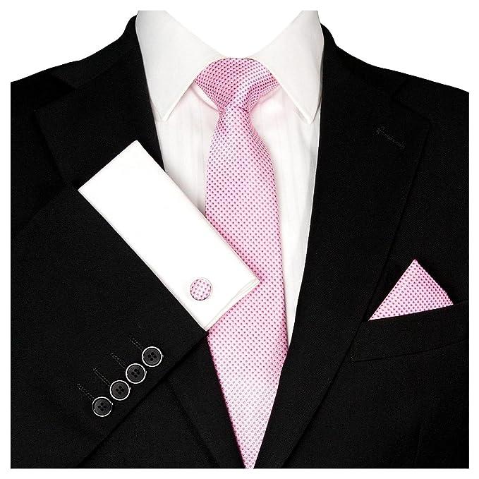 GASSANI - Corbata - para hombre rosa Rosa: Amazon.es: Ropa y ...