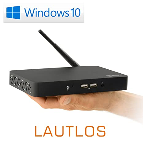 Mini PC - Lautlose CSL Narrow Box/Win 10 - Silent de PC con Intel ...