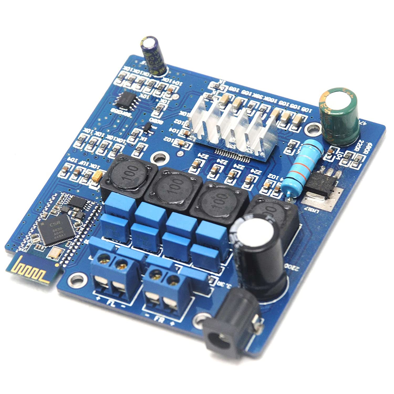 New Tpa3116 Bluetooth Amplifier Board Class D 50w2 Amp Speaker Pcb Circuit Hasl Electronic Printed Maker Csr40 Home Audio Theater