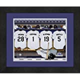 9ca7f11b0af Colorado Rockies Personalized MLB Baseball Locker Room Jersey Framed Print  14x18 Inches
