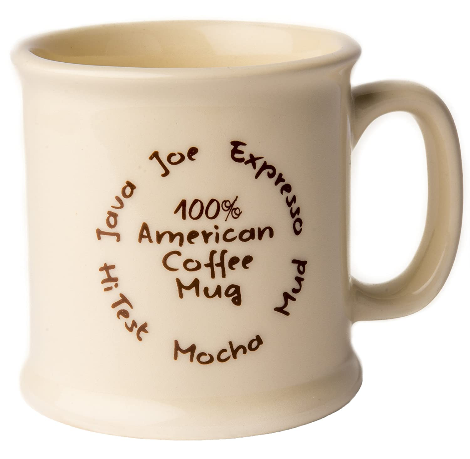 Amazon American Mug Pottery 14 oz Ceramic Coffee Mug Pack of