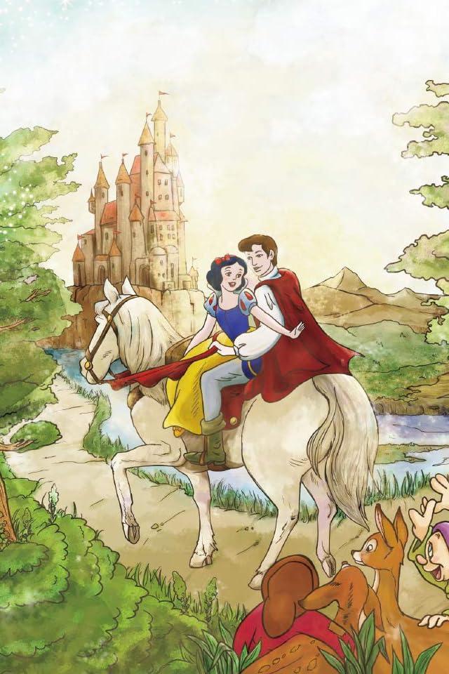 ディズニー 白雪姫 iPhone(640×960)壁紙画像