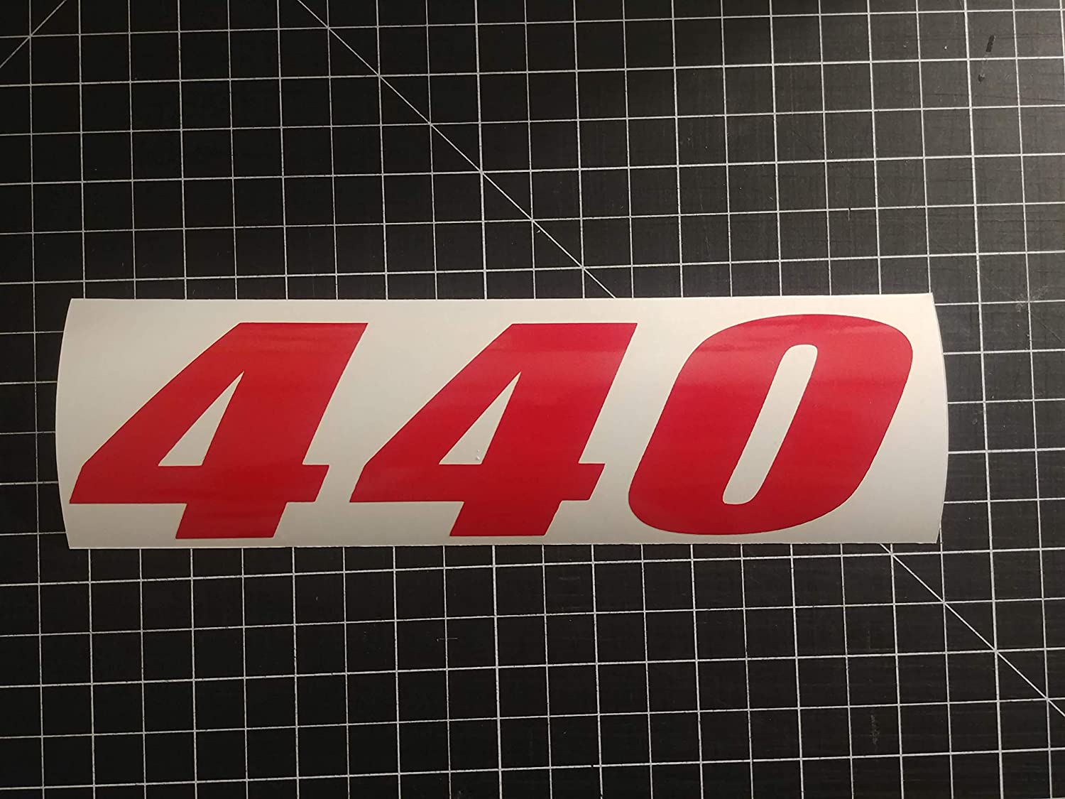 Multi-Color 440 engine HP Mopar decal sticker 4-9 Dodge Chrysler Plymouth or a Snowmobile