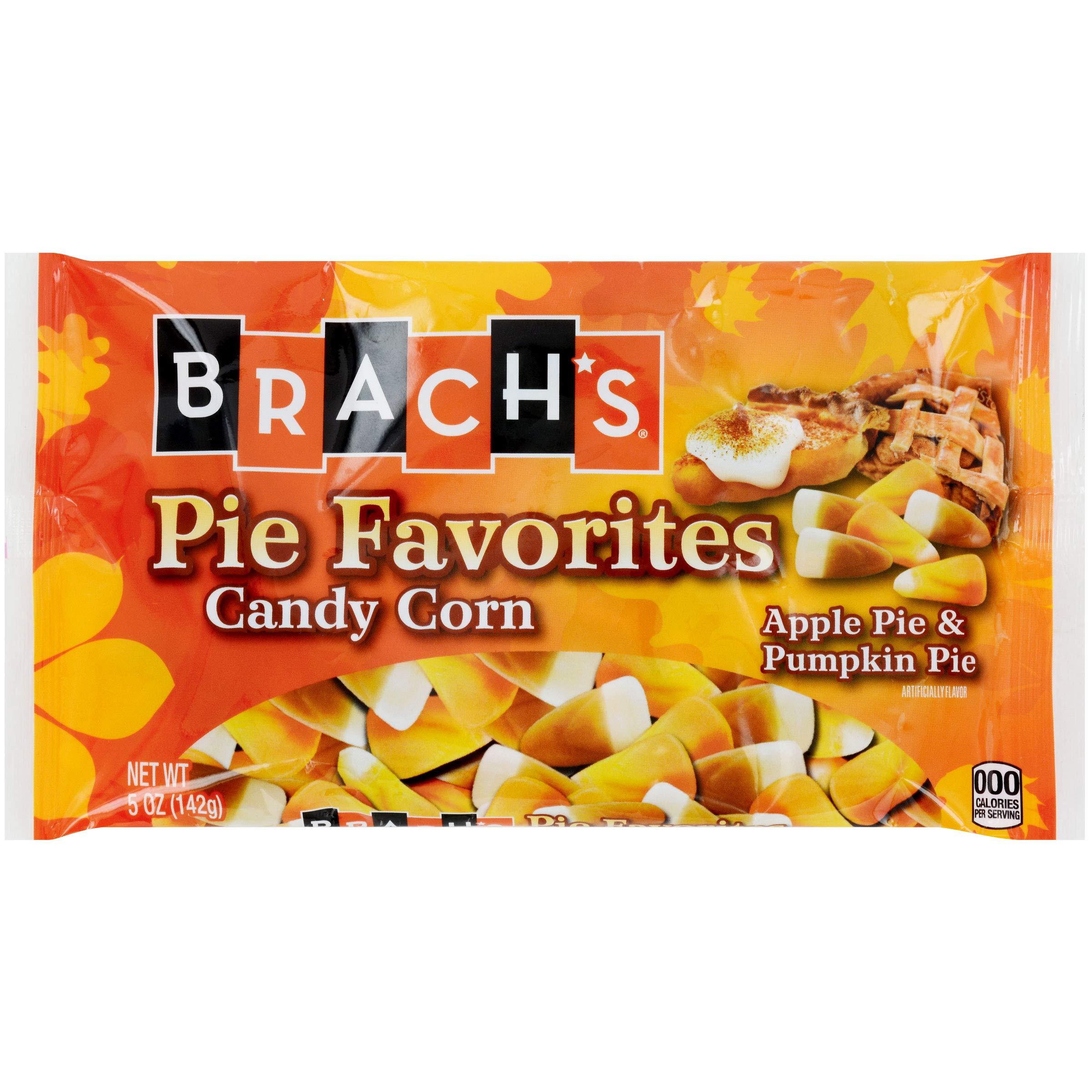 Brach's (1) bag Pie Favorites Candy Corn - Apple Pie & Pumpkin Pie Flavored Halloween/Fall Candy - Net Wt. 5 oz