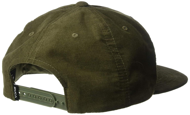 6f699505677acc Amazon.com: RVCA Men's Everett Snapback HAT, Black One Size: Clothing