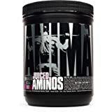 Universal Nutrition Animal Juiced Aminos Enhanced BCAA and EAA Instantized Amino Acid Supplement, Grape, 30 Count
