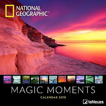Calendrier Soleil.Calendrier 2019 National Geographic Couche De Soleil