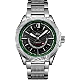 JBW Men's 10-Year Anniversary Globetrotter 21 Diamond Swiss GMT Movement Watch - J6365-10A