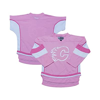 new product 41541 7b381 OuterStuff Calgary Flames Infant Toddler Kids Pink Girls ...