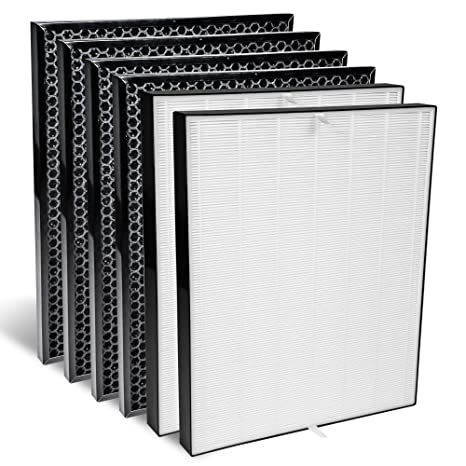 Replacement HEPA Filter fits AIR Doctor Ultra HEPA Air Purifier by LifeSupplyUSA