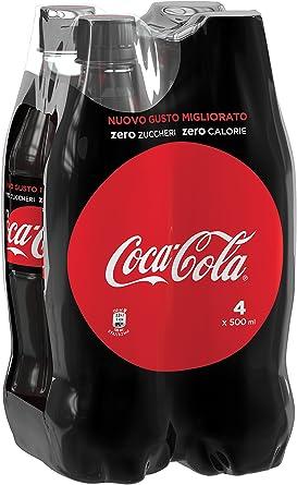 Coca-Cola - Zero, Botella de Plástico 500 ml: Amazon.es ...