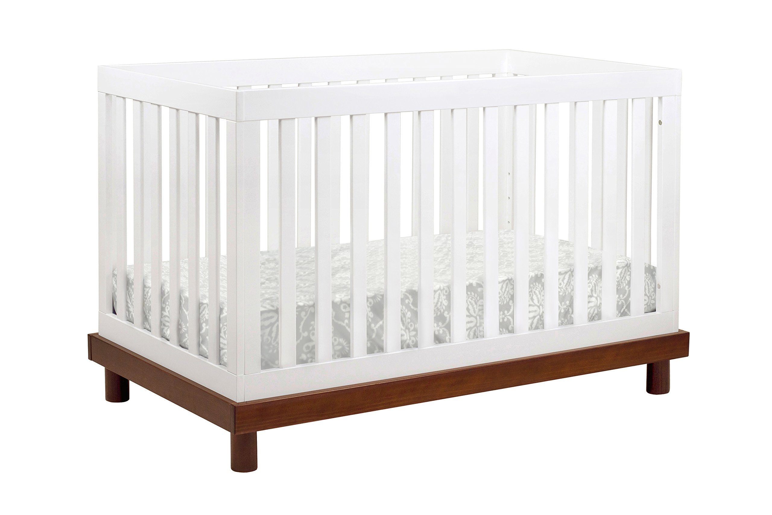 Baby Mod Olivia 3-in-1 Convertible Crib with Toddler Bed Conversion Kit