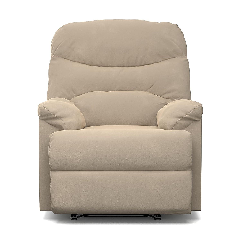Amazon ProLounger Wall Hugger Recliner Chair in Khaki