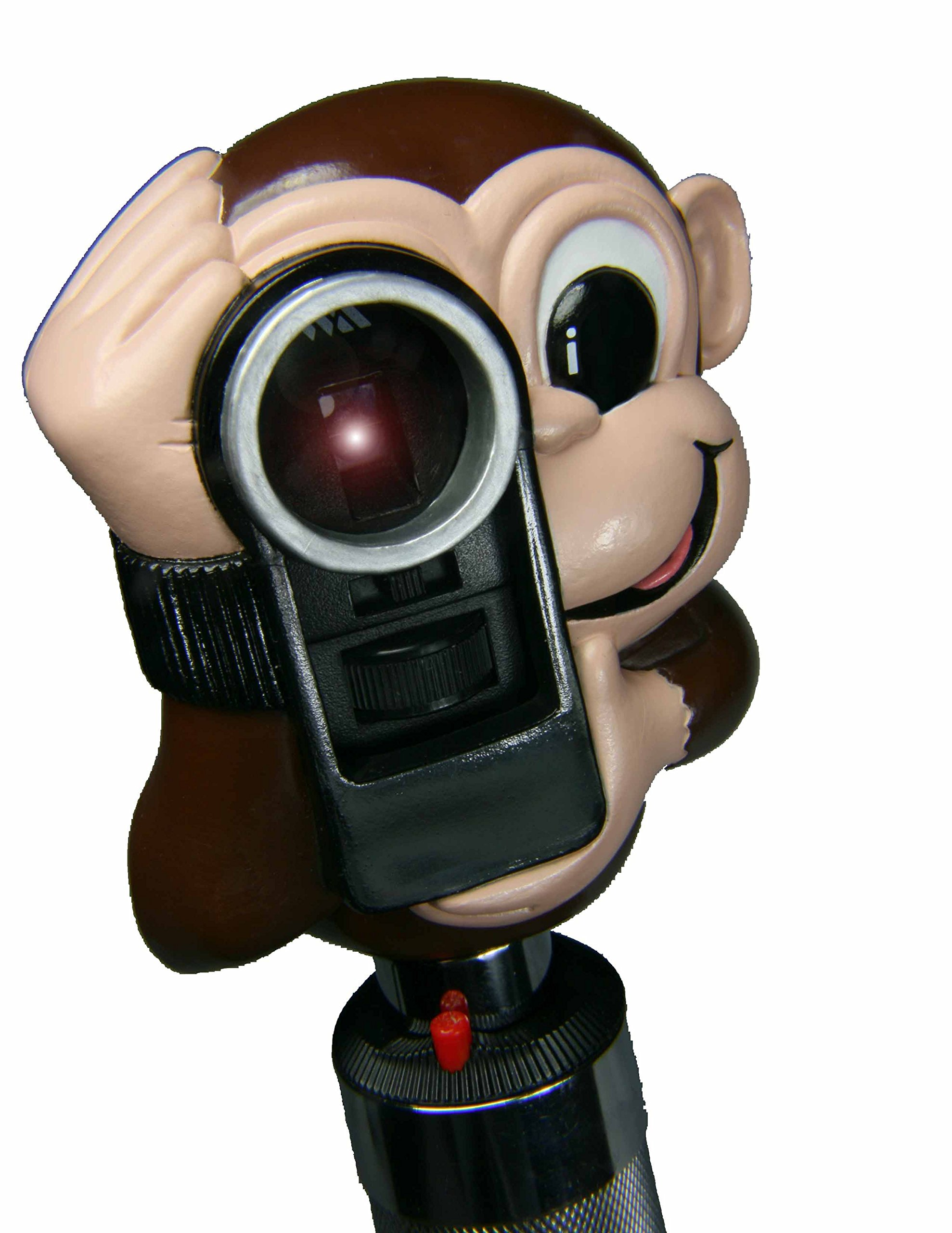 Exambuddies Ophthalmoscope Attachment for Welch Allyn Ophthalmoscopes, Monte The Monkey Accessory