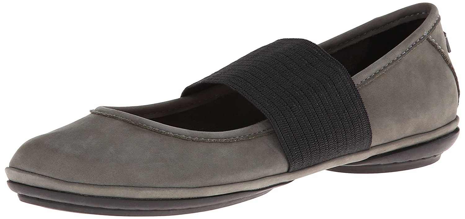 Camper Women's Right Nina Ballet Flat B00HWR0ZGI 35 M EU / 5 B(M) US|Grey
