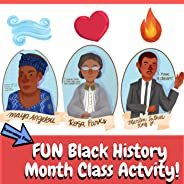 Fun Black History Month Activity With MLK, Maya Angelou, and Rosa Parks Lesson Plan (Printables Included)