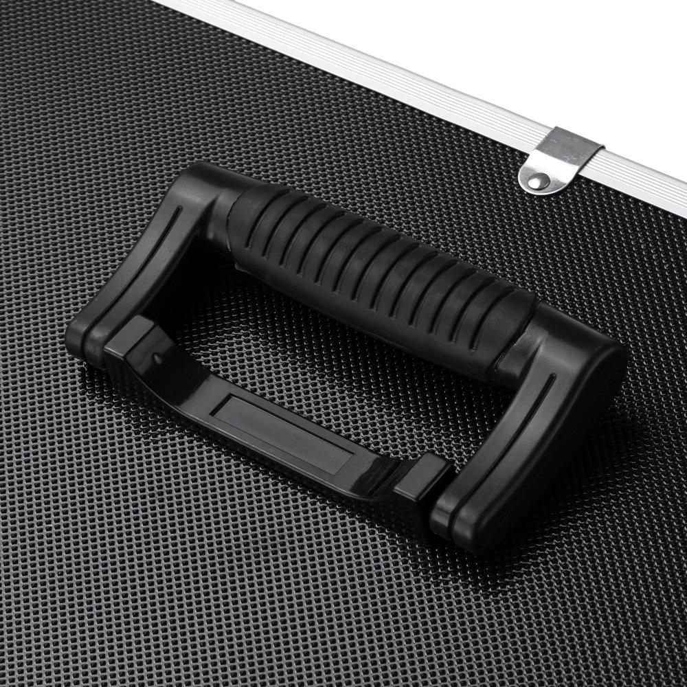 iKayaa Large Portable Hard Storage Box Carrying Case for Tools, Fishing Tackle 3 Layer by IKAYAA (Image #4)