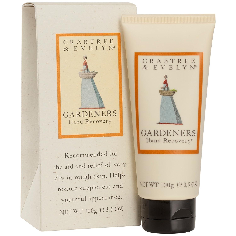 クラブツリー&イヴリンの庭師の手リカバリークリーム100ミリリットル (Crabtree & Evelyn) (x2) - Crabtree & Evelyn Gardeners Hand Recovery Cream 100ml (Pack of 2) [並行輸入品] B01N01WOBT