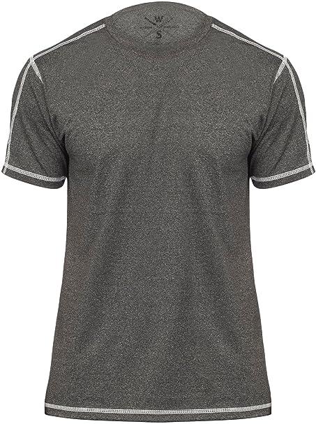 2bb4bcd49f9 Athletic T Shirt Dri Fit Sport Shirts for Men Sports Athletics t-Shirt,  Black