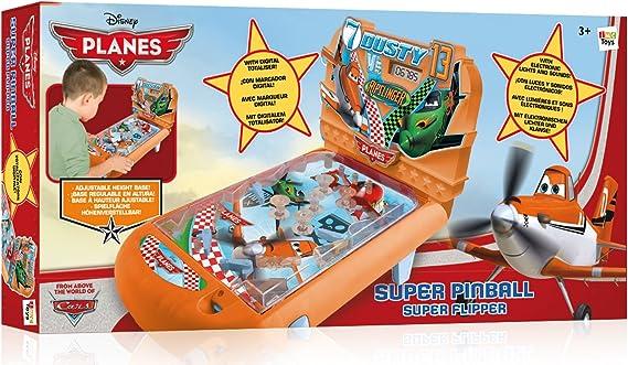 IMC Toys Aviones - Súper Pinball: IMC Toys - 625037 - Jeu de Plein Air - Flipper Planes: Amazon.es: Juguetes y juegos